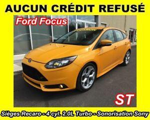 2013 Ford Focus **AUCUN CRÉDIT REFUSÉ**
