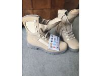 MEINDAL Military style Desert boots Size 9 (43)