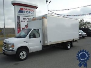 2016 Ford E450 - 16 Ft Cube Van - Cruise - CVIP - Pull-Out Ramp