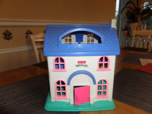 Fisher Price Little People playhouse