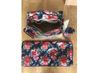 Cath Kidston floral nappy bag