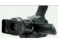 SONY HDR HC1 CAMCORDER