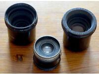 Three Leitz Enlarging lenses - Post paid.