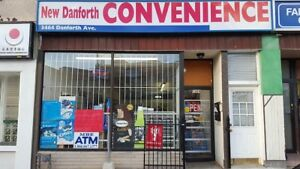 BEAUTIFUL & CLEAN RETAIL SPACE FOR LEASE - DANFORTH AVE
