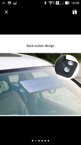Car battery solar charger new in box