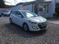 2012 62 HYUNDAI i30 1.4 ACTIVE 5 DOOR 100 BHP,ONLY 51000 MILES WITH FULL