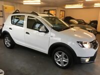 Dacia Sandero 0.9 TCE 90 STEPWAY AMBIANCE (white) 2014