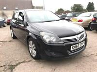 VAUXHALL ASTRA SXI BLACK PETROL 1598CC 105BHP LONG MOT NATIONWIDE DELIVERY ***BARGAIN***