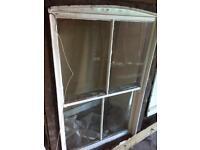 Victorian sash box window