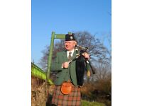 Bagpipe Tuition by Qualified and experienced teacher. Lessons in person and via internet