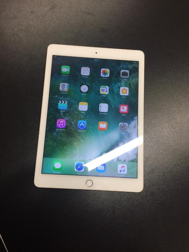 iPad Air 2 16GB Unlockedin Sheffield, South YorkshireGumtree - iPad Air 2 16GB Gold Wifi Mint condition like new With accessories Fully tested and passed on all internal quality control checks Comes with shop warranty Buy with confidence in the knowledge youre getting a genuine product from a genuine seller that...