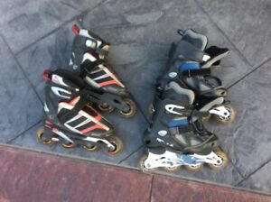 (2) Pairs of Roller Blades size 6