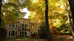 Book! Muskoka Waterfront Cottage Fall Colours Getaway