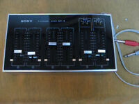 Sony MX-8 self powered portable mixer 'Retro'