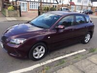 2007 Mazda 3 TS, 1.4 petrol, manual,12 months MOT and Tax, Full Service, 2 keys