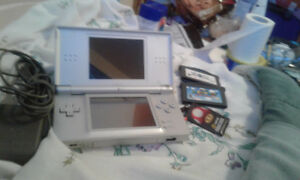 Nintendo ds and 2 games