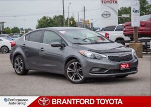 2014 Kia Forte 2.0L EX, Manual Transmission, Trade In, Tinted
