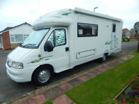 Autocruise Gleneagle Peugeot 2.8 Manual Motorhome, Camper, Immaculately Clean