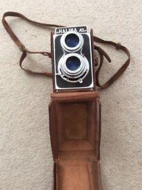 Halina camera twin lense reflex