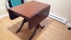 Duncan Phyfe Drop Leaf Dining Table