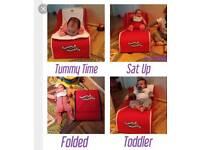 Tummy with Mummy foldaway baby/toddler seat