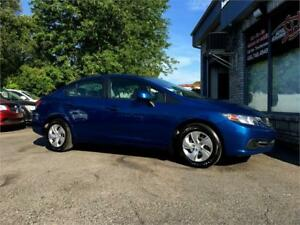 2013 Honda Berline Civic LX A/C BLUETOOTH SIEGES CHAUFFANTS