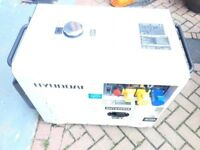 Diesel Hyundai Silent Generator DHY6000SE