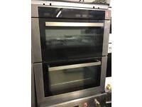 Stylish modern double built-in Electric Oven - grill