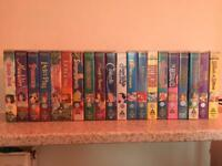 Disney video cassettes