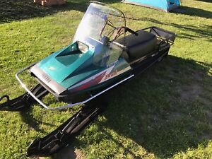 2008 Yamaha bravo trappers edition long track