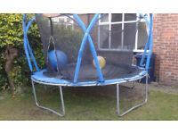 10 ft Trampoline with Safety Net Spares only