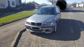 BMW 320d M sport. estate, diesel, Full service and parts history.