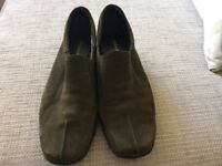 Ladies M&S footglove slip on shoes 5.5