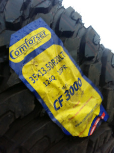 NEW COMFORSER MUD AND ALL TERRAIN TIRES