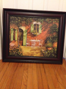 Household framed picture
