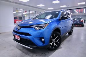 2016 Toyota RAV4  SE ONE OWNER, CLEAN CARPROOF, NON SMOKER, GREA