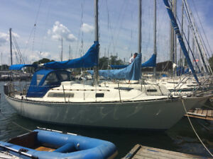 C and C 27 sailboat
