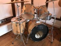 Drum Kit Vintage with new wrapping.