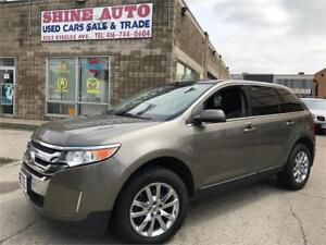 2013 Ford Edge LIMITED AWD NAVIGATION PANORAMIC ROOF