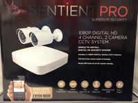 Sentient Pro 3-camera CCTV Kit