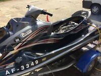 Yamaha vx Crusier Jet ski 2007 very low hrs in excellent condition with fsh