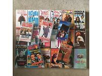 Job lot VHS 69 tapes Music Comedy Film Madonna Ab Fab Victoria Wood Billy Connolly Carry On...