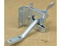 garden gate latch. zinc plated