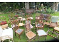 Antique & vintage chairs for restoration from £5