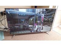 "Sharp LC-43CUF8462KS 43"" Smart Liquid crystal display Television Extremely HD 4K Wi-Fi HDMI Silver"