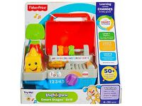 *BARGAIN* Brand New Fisher Price Toys Laugh and Learn Smart Stages BBQ Grill £10