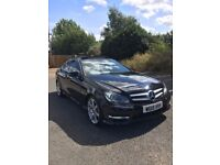 mercedes c220 cdi amg sport edition 2 door coupe panoramic roof 2015