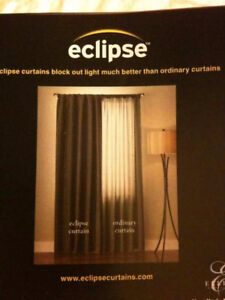 ECLIPSE BLACK-OUT CURTAINS FROM COSTCO