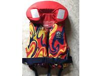 Children's Crewsaver lifejacket