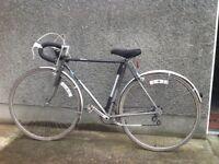 Silver Dawes bicycle